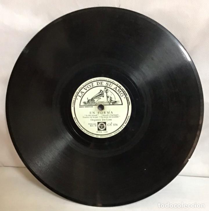Discos de pizarra: EN FORMA-OASIS, ORQUESTA JOE LOSS - Foto 4 - 287934453