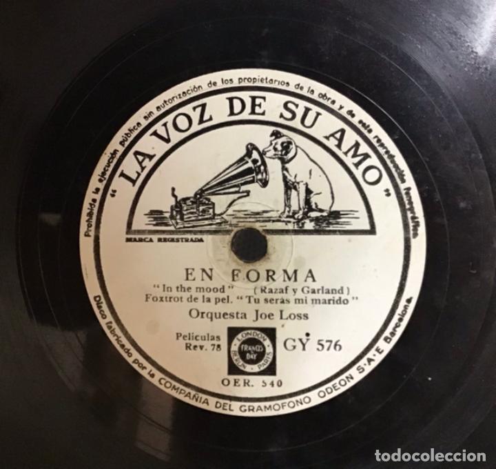 EN FORMA-OASIS, ORQUESTA JOE LOSS (Música - Discos - Pizarra - Jazz, Blues, R&B, Soul y Gospel)