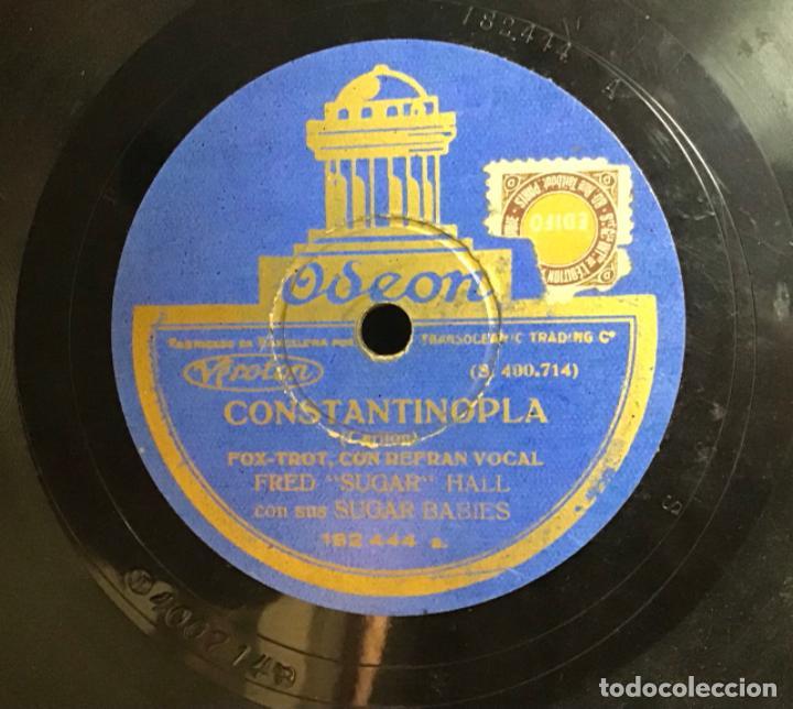 """Discos de pizarra: CHILLY POM POM PEE-CONSTANTINOPLA, FRED """"SUGAR"""" HALL - Foto 2 - 287936803"""