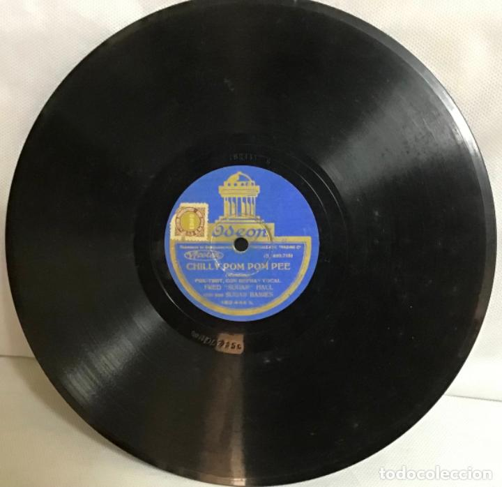 """Discos de pizarra: CHILLY POM POM PEE-CONSTANTINOPLA, FRED """"SUGAR"""" HALL - Foto 3 - 287936803"""