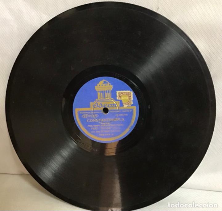 """Discos de pizarra: CHILLY POM POM PEE-CONSTANTINOPLA, FRED """"SUGAR"""" HALL - Foto 4 - 287936803"""