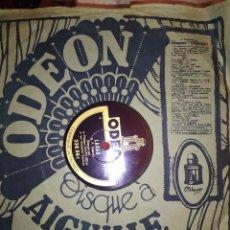 Discos de pizarra: DISCO PIZARRA ODEON AVE MARIA DAJOS BELA ORCHESTRE VIENNOIS LARGO HAËNDEL. Lote 288075798