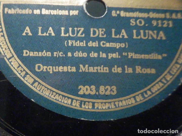 Discos de pizarra: PIZARRA Odeón 203.823 - Josita Hernán - Pimentilla - A la Luz de la luna - Foto 3 - 288389213