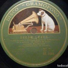 Discos de pizarra: PIZARRA GRAMÓFONO AE 3065 - JEANETTE MACDONALD - LA MARCHA DE LOS GRANADEROS - DREAM LOVER. Lote 288398488