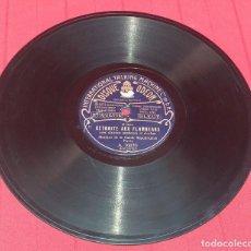 Discos de pizarra: DISCO DE PIZARRA - EXPRESS ORIENT - RETRAITE AUX FLAMBEAUX. Lote 288516188