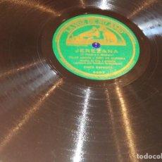 Discos de pizarra: GRAMÓFONO DISCO FLAMENCO. Lote 288658183