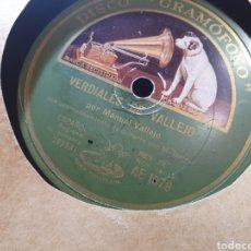 Discos de pizarra: MANUEL VALLEJO DISCO DE PIZARRA. Lote 288941808