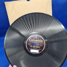 Discos de pizarra: DISCO PIZARRA COLUMBIA. GOOD KING WENCESLAS. THE FIRST NOWELL. Lote 289241723