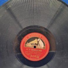 Discos de pizarra: DISCO PIZARRA HIS MASTER'S VOICE. SI MI CHIAMANO MIMI. DONDE LIETA USCI, AL TUO GRIDO D'AMORE. Lote 289245503