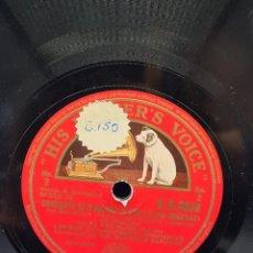 Discos de pizarra: DISCO PIZARRA HIS MASTER'S VOICE. CONCERTO IN D MAJOR. MOZART. Lote 289250188