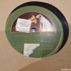 Discos de pizarra: NIÑA DE LA PUEBLA DISCO DE PIZARRA. Lote 289339758