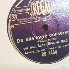 Discos de pizarra: GRAMÓFONO DISCO. Lote 289581098