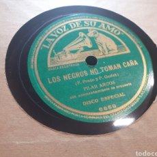 Discos de pizarra: BAQUELITA NIÑO DE ALMERIA. Lote 290551568
