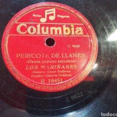 Discos de pizarra: DISCO PIZARRA O BAQUELITA DE ASTURIAS. Lote 290769748