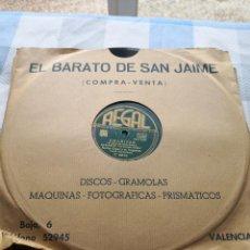 Discos de pizarra: CHARISSE XAVIER CUGAT Y SU ORQUESTA -PELÍCULA EN UNA ISLA CONTIGO DISCO D PIZARRA CERTIF 4,99. Lote 290978043