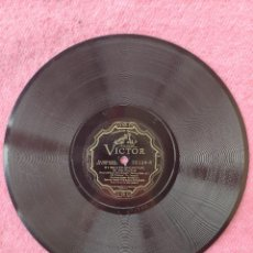 """Discos de pizarra: 10"""" JOHNNY HAMP - SUNNY SIDE UP / IF I HAD A TALKING PICTURE OF YOU - VICTOR 22124 (VG++). Lote 293151523"""