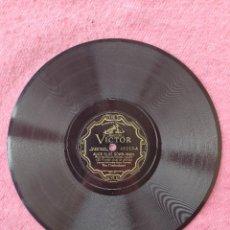 "Discos de pizarra: 10"" THE TROUBADOURS - ALICE BLUE GOWN / BEAUTIFUL LADY - VICTOR 22117 (VG). Lote 293151963"