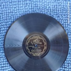 """Discos de pizarra: 10"""" BLUE STEELE - MISTAKES / ROCK ME TO SLEEP IN YOUR ARMS - VICTOR 22142 (EX-) PIZARRA 78RPM. Lote 293240243"""