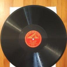 Discos de pizarra: DISCO DE PIZARRA - LA VOZ DE SU AMO - SEVILLA / NAVARRA. Lote 293787388