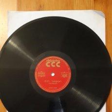 Discos de pizarra: DISCO DE PIZARRA - POLIGLOPHONE CCC - ESPAÑOL / INGLES. Nº105 - LECCION 7 Y 8. Lote 293794748