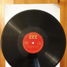 Discos de pizarra: DISCO DE PIZARRA - POLIGLOPHONE CCC - INGLES. Nº1112 - LECCION 9 - 10 - 11 - 12. Lote 293795118