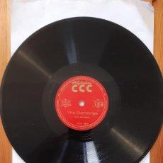 Discos de pizarra: DISCO DE PIZARRA - POLIGLOPHONE CCC - INGLES FONETICA. Nº106 - LOS DIPTONGOS. Lote 293795918