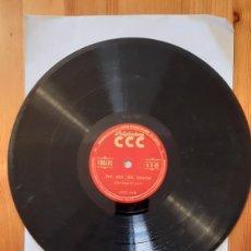 Discos de pizarra: DISCO DE PIZARRA - POLIGLOPHONE CCC - INGLES Nº110 - LECCIONES 1-2-3-4. Lote 293797018