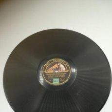 Discos de pizarra: DISCO DE PIZARRA. GRAMÓFONO. SCHEHERAZADE. Nº 1 Y 2. ORQUESTA SINFÓNICA DE FILADELFIA. Lote 295393898