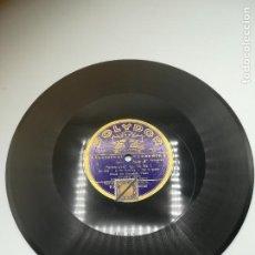 Discos de pizarra: DISCO PIZARRA. POLYDOR. ELECTRICA RECORDING. MAZURKA Nº 2. PADEREWSKI Nº 1. CHOPIN. Lote 295394163
