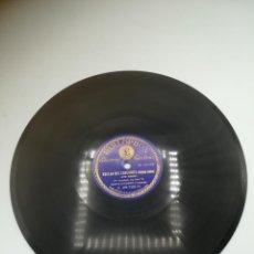 Discos de pizarra: DISCO PIZARRA. PARLOPHON. ELECTRIC. VUELAN MIS CANCIONES. PELICULA SONORA. FR.SCHUBERT. Lote 295394673