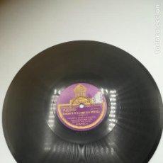 Discos de pizarra: DISCO PIZARRA. ODEON. CAPRICHO ARABE / SERANATA DE LA FANTASIA MORISCA. ORQUESTA IBERICA DE MADRID. Lote 295395943