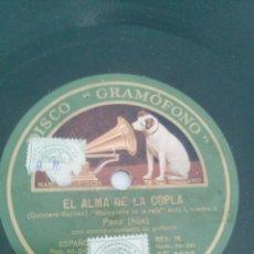 Discos de pizarra: LOTE DE 21 DISCO DE FLAMENCO EN PIZARRA. Lote 295433013