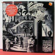 Discos de vinilo: THE GOLDEN AGE OF THE 'HOLLYWOOD' STARS(HUMPHREY BOGART,BETTE DAVIS,ERROL FLYNN...) LP33 DOBLE . Lote 10837312