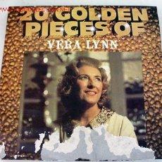 Discos de vinilo: VERA LYNN (20 GOLDEN PIECES OF VERA LYNN) LP33. Lote 742104