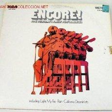 Discos de vinilo: JOSE FELICIANO (ENCORE!) LP33. Lote 743923