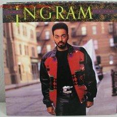 Discos de vinilo: JAMES INGRAM ( IT`S REAL ) 1989 - EEC LP33 WARNER BROS RECORDS. Lote 11409954