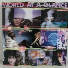 Discos de vinilo: WORLD AT A GLANCE ( WORLD AT A GLANCE ) 1988-GERMANY LP33 ISLAND RECORDS. Lote 744478