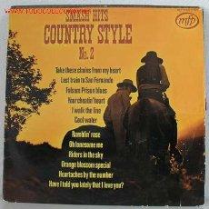 Discos de vinilo: SMASH HITS COUNTRY STYLE Nº2 LP33. Lote 752901