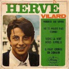 Discos de vinilo: HERVE VILARD EP. Lote 20865113