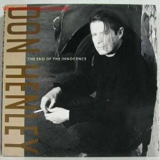 Discos de vinilo: DON HENLEY (THE END OF THE INNOCENCE) USA 1989-GERMANY LP33 GEFFEN RECORDS. Lote 162242101