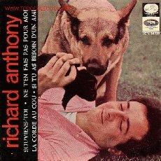 Discos de vinilo: RICHARD ANTHONY EP. Lote 8942988