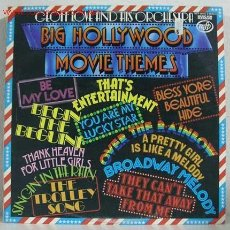 Discos de vinilo: GEOFF LOVE AND HIS ORCHESTRA (BIG HOLLYWOOD MOVIE THEMES) LP33. Lote 762643