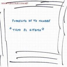 Discos de vinilo: TONY EL GITANO. Lote 22180592