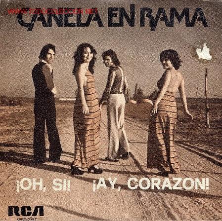 CANELA EN RAMA (Música - Discos - Singles Vinilo - Grupos Españoles de los 70 y 80)