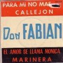 Discos de vinilo: DON FABIAN DISCO EP. Lote 17135129