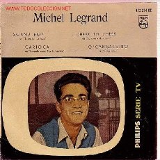 Discos de vinilo: MICHEL LEGRAND DISCO EP ORIGINAL ESPAÑOL 1959. Lote 10371267