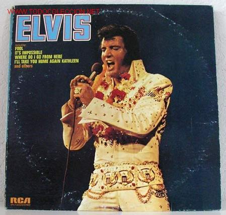 ELVIS PRESLEY (ELVIS) LP33 (Música - Discos - LP Vinilo - Rock & Roll)