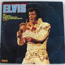 Discos de vinilo: ELVIS PRESLEY (ELVIS) LP33. Lote 5104311