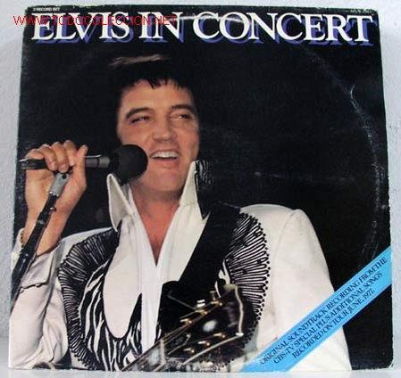 ELVIS PRESLEY ( ELVIS IN CONCERT ) ''RECORDED ON TOUR JUNE,1977'' DOBLE LP33 USA-1977 RCA (Música - Discos - LP Vinilo - Rock & Roll)