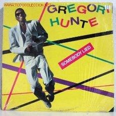 Discos de vinilo: GREGORI HUNTE (SOMEBODY LIED) USA - 1983 LP33. AMC. Lote 787146